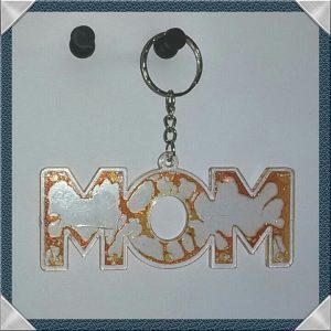 (14) MOM Keychain Metallic Orange