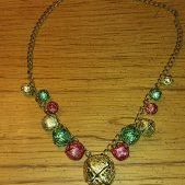 (187) Jingle Bell Necklace