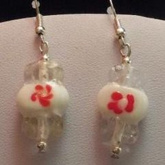 (42) Peppermint_Candy_Earrings