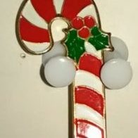 (802) Candy Cane Pin